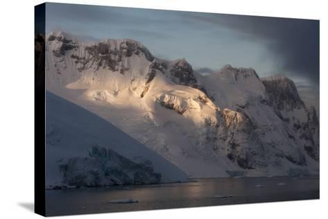 Lemaire Channel in Antarctica-Sergio Pitamitz-Stretched Canvas Print