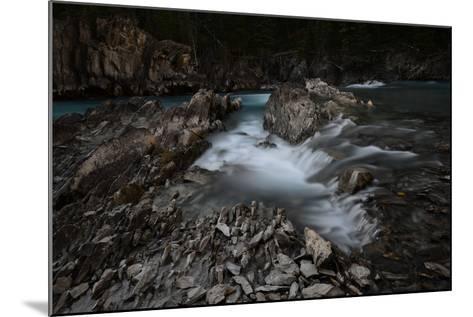 Natural Bridge over Kicking Horse River in Alberta, Canada-Raul Touzon-Mounted Photographic Print
