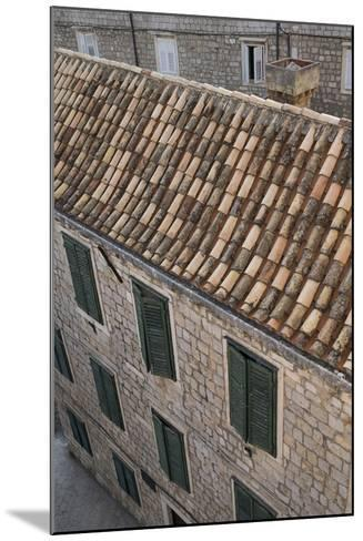 Dubrovnik's Old Town on the Dalmatian Coast in Croatia-Krista Rossow-Mounted Photographic Print
