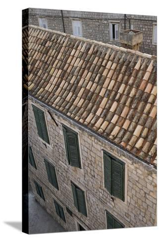 Dubrovnik's Old Town on the Dalmatian Coast in Croatia-Krista Rossow-Stretched Canvas Print