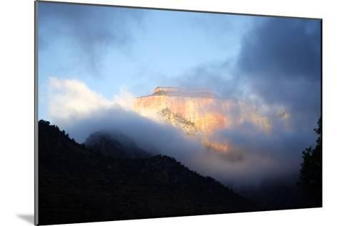 Sunrise in Zion National Park, Utah, USA-Jill Schneider-Mounted Photographic Print