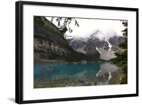 View of Moraine Lake in Alberta, Canada-Jill Schneider-Framed Art Print