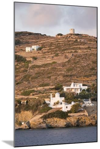 A Tiny Village on the Cycladic Island of Amorgos in Greece-Krista Rossow-Mounted Photographic Print
