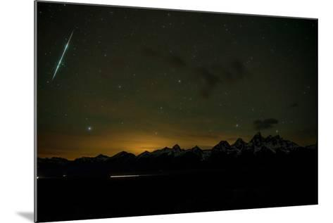 Stars Fill the Sky over Mountains-Prasenjeet Yadav-Mounted Photographic Print