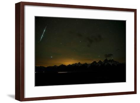 Stars Fill the Sky over Mountains-Prasenjeet Yadav-Framed Art Print