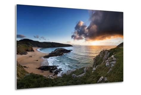 Scenic View of Murder Hole Beach in Donegal, Ireland-Chris Hill-Metal Print