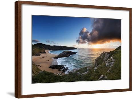 Scenic View of Murder Hole Beach in Donegal, Ireland-Chris Hill-Framed Art Print