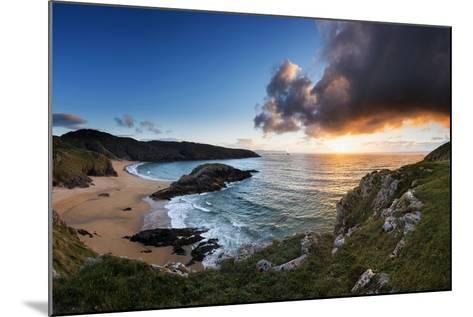 Scenic View of Murder Hole Beach in Donegal, Ireland-Chris Hill-Mounted Photographic Print