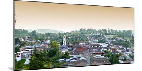 The Town of Salento in Colombia-Kike Calvo-Mounted Photographic Print