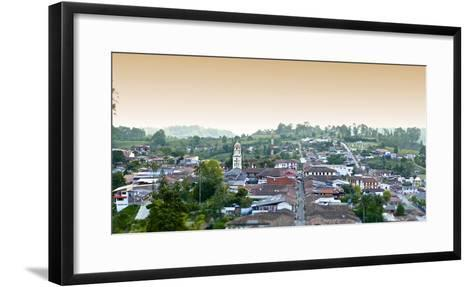 The Town of Salento in Colombia-Kike Calvo-Framed Art Print