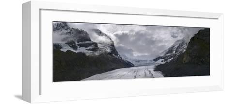 Athabasca Glacier in Alberta, Canada-Raul Touzon-Framed Art Print
