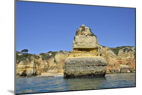 Ponta Da Piedade on the Algarve Coast-Kike Calvo-Mounted Photographic Print