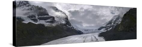Athabasca Glacier in Alberta, Canada-Raul Touzon-Stretched Canvas Print