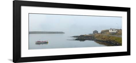Panoramic View of Djupivogur Port in Iceland-Raul Touzon-Framed Art Print