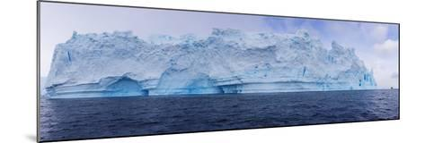 A Huge Grounded Iceberg Rests in Cierva Cove-Stephen Alvarez-Mounted Photographic Print