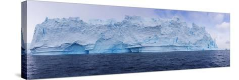 A Huge Grounded Iceberg Rests in Cierva Cove-Stephen Alvarez-Stretched Canvas Print