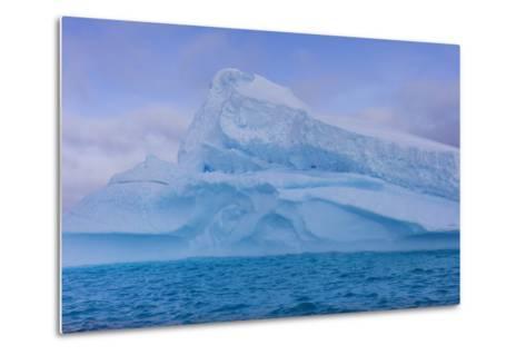A Large Iceberg Floats in Cierva Cove-Stephen Alvarez-Metal Print