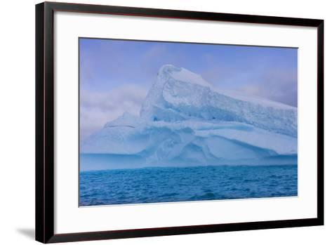 A Large Iceberg Floats in Cierva Cove-Stephen Alvarez-Framed Art Print