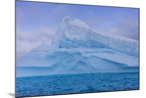 A Large Iceberg Floats in Cierva Cove-Stephen Alvarez-Mounted Photographic Print