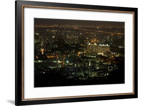 Apartment Buildings Near Sanjay Gandhi National Park Which Is Habitat for Leopards-Steve Winter-Framed Art Print