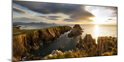Sunset at Malin Head, Donegal, Ireland-Chris Hill-Mounted Photographic Print