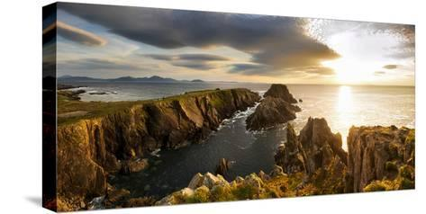 Sunset at Malin Head, Donegal, Ireland-Chris Hill-Stretched Canvas Print