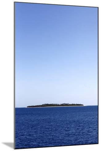 Scenic View of Beachcomber Island in Fiji-Jill Schneider-Mounted Photographic Print