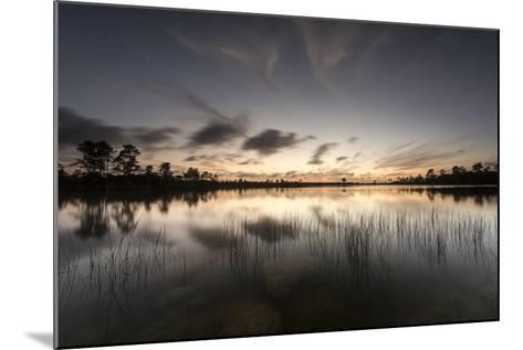 Twilight over Florida's Everglades National Park-Keith Ladzinski-Mounted Photographic Print