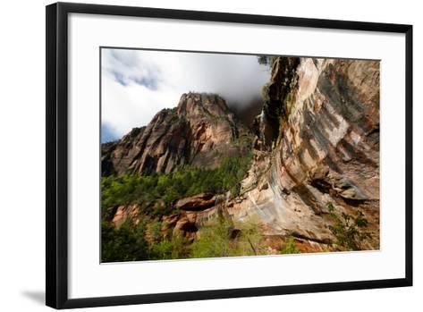 Early Morning in Zion National Park in Utah, USA-Jill Schneider-Framed Art Print