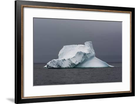 An Iceberg in the Gerlache Strait, Antarctica-Sergio Pitamitz-Framed Art Print