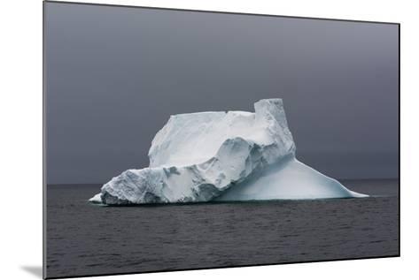 An Iceberg in the Gerlache Strait, Antarctica-Sergio Pitamitz-Mounted Photographic Print