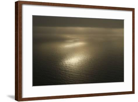 Sunsets over the Foveaux Strait in New Zealand-Cagan Sekercioglu-Framed Art Print