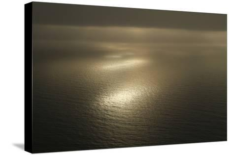 Sunsets over the Foveaux Strait in New Zealand-Cagan Sekercioglu-Stretched Canvas Print