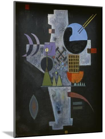 In the form of a cross. 1926-Wassily Kandinsky-Mounted Giclee Print