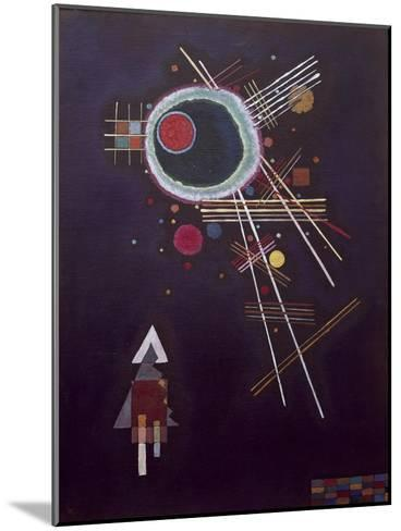 Ray lines. 1927-Wassily Kandinsky-Mounted Giclee Print