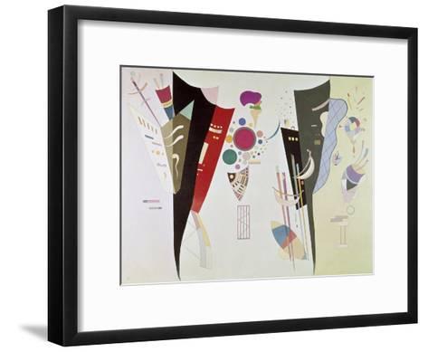 Wechselseitiger Gleichklang (Accord réciproque). 1942-Wassily Kandinsky-Framed Art Print