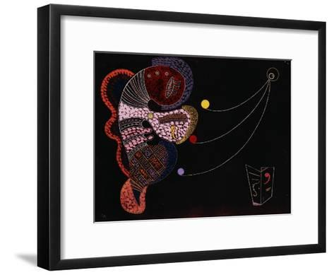 The Big and the Small (Le Gros et le Mince). 1937-Wassily Kandinsky-Framed Art Print
