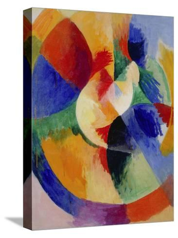 Circular Forms, Sun (Formes circulaires, soleil). 1912 - 13-Robert Delaunay-Stretched Canvas Print