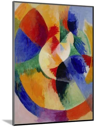 Circular Forms, Sun (Formes circulaires, soleil). 1912 - 13-Robert Delaunay-Mounted Giclee Print