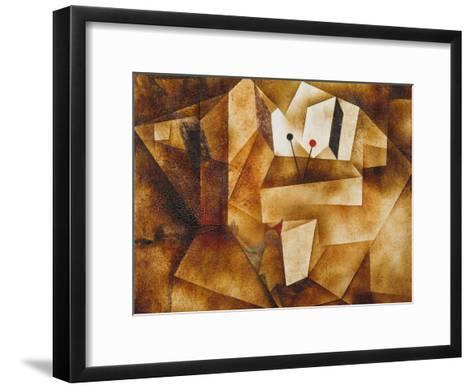 The Kettledrum Organ (Die Paukenorgel). 1930-Paul Klee-Framed Art Print
