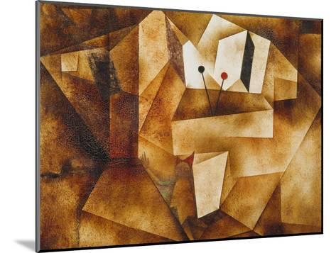 The Kettledrum Organ (Die Paukenorgel). 1930-Paul Klee-Mounted Giclee Print