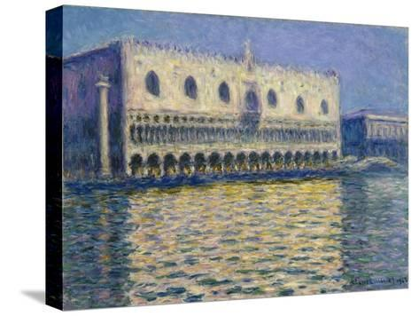 The Doge's Palace in Venice. 1908-Claude Monet-Stretched Canvas Print