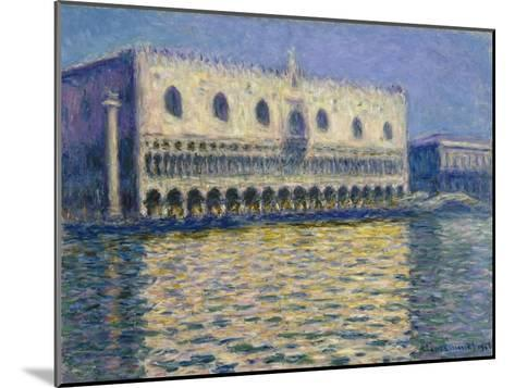 The Doge's Palace in Venice. 1908-Claude Monet-Mounted Giclee Print
