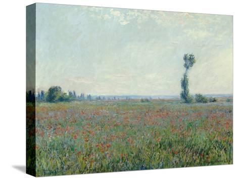 Champ de coquelicots - Poppy Field. 1881-Claude Monet-Stretched Canvas Print