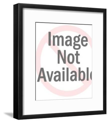 Mustache Man Close up-Pop Ink - CSA Images-Framed Art Print