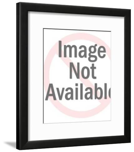 Man With Eyes Wide Open-Pop Ink - CSA Images-Framed Art Print