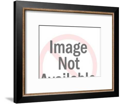 Close up of Frightened Man-Pop Ink - CSA Images-Framed Art Print
