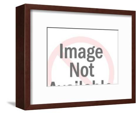 Man Speaking to Nurse-Pop Ink - CSA Images-Framed Art Print