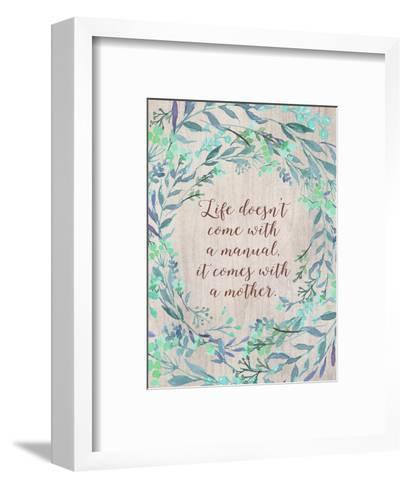 Mom Manual-Tara Moss-Framed Art Print
