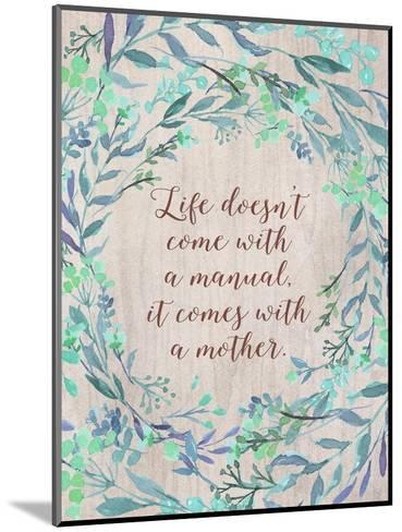 Mom Manual-Tara Moss-Mounted Art Print